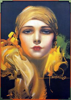 Flower of the Orient—1931—Rolf Armstrong