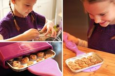 When I used my Easy-Bake Oven as a kid, mixes were cheap. My daughters love playing with their oven, but mixes are expensive. Enjoy these recipes for yummy treats that are a fraction of the cost! Easy Bake Oven Refills, Easy Bake Oven Mixes, Easy Bake Oven Sugar Cookie Recipe, Easy Bake Oven Pizza Recipe, Easy Baking Recipes, Oven Recipes, Cooking Recipes, Kid Recipes, Baking Tips