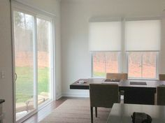 Diana's Blinds & Designs, Inc.'s Design Ideas, Pictures, Remodel, and Decor. Hunter Douglas Designer Screen Roller Shades