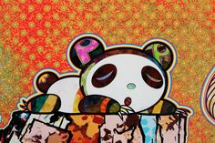 Superflat, Takashi Murakami, Haruki Murakami, Murakami Artist, Japanese Pop Art, Scene Outfits, Art Japonais, Contemporary Sculpture, Stencil Art
