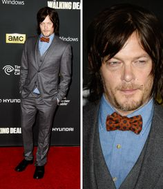 Norman Reedus, TWD, S4 premiere @ Universal CityWalk, Universal City, California 10-3-13
