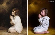 Photographer used children with Down Syndrome in famous paintings