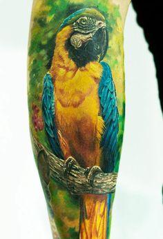 Tattoo Artist - Led Coult Tattoo  - animal tattoo - www.worldtattoogallery.com