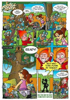 Perfect Earth Comic - Treehouse