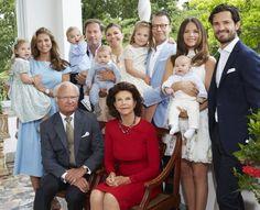 2016 Christmas & New Year's cards: Swedish Royal Family