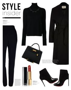 """""""#200"""" by kgarden ❤ liked on Polyvore featuring River Island, Nehera, Plakinger, Christian Louboutin, Hermès, Chanel and Luna Skye"""