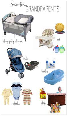 Baby Gear for Grandparents @Lisa Phillips-Barton Phillips-Barton Phillips-Barton Phillips-Barton Bracken