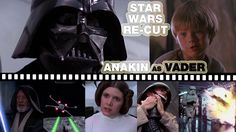 Star Wars Parody Featuring Darth Vader Dubbed Over With Young Anakin Skywalker's Voice