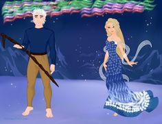 """""""Oh Jack, this is so amazing!"""" Elsa said taking in the colors of the lights. """"I figured you would enjoy this, but the lights don't compare to your beauty."""" Jack said. """"Anna always said the sky was awake whenever they appear."""" Elsa said. """"Well don't have to worry about me leaving. These are natural northern lights so North's not calling me."""" Jack said. """"Thank you for the dress and this wonderful night, Jack."""" Elsa said kissing him. """"Your welcome."""" Jack said."""