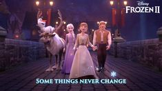 """Get your tickets now for the sing-along screenings starting next Friday! Get in the spirit and sing along to """"Some Things Never Change"""" in the new lyric video! Disney Frozen 2, Olaf Frozen, New Lyrics, Frozen Wallpaper, Frozen Pictures, Some Things Never Change, Frozen Costume, Friday, Spirit"""