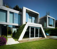 106 best modern house designs pictures gallery images on Pinterest ...