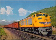The Union Pacific's Gas Turbine Locomotive Fleet, GTELs