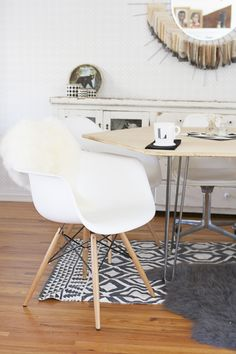 Persia Lou: Modern Dining Table DIYs