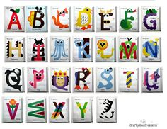 Interactive Alphabet Notebook by Crafty Bee Creations Alphabet Letter Crafts, Abc Crafts, Preschool Activities, Letter Tracing, Uppercase Alphabet, Preschool Letters, Alphabet Activities, Letter Of The Week, Preschool Learning