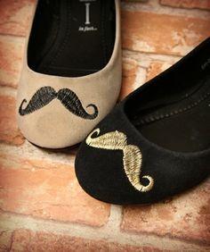 Moustache flats