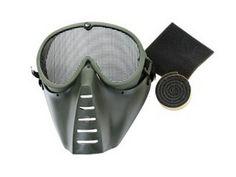 Μάσκα Airsoft STRIKE SYSTEMS με δύχτι Dark Olive