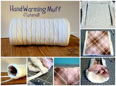 Hand Muff | 17 DIY Accessories To Keep You Cozy This Winter