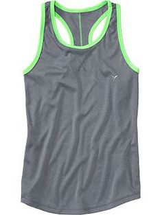 Girls Old Navy Active Racerback Tanks | Old Navy
