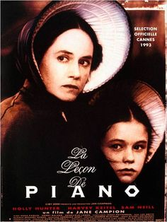 The Piano premiered May 1993 at Cannes, Aug 5 in Australia and New Zealand, and Oct in Chicago Films Cinema, Cinema Posters, Movie Posters, The Piano, Sam Neill, Bon Film, Old Movie Stars, Piano Lessons, Love Movie