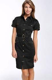 classy shirt dress