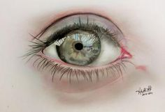 """Eye 1"" #Creative #Art in #sketching @Touchtalent"