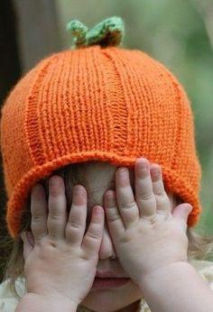 Orange Pumpkin Hat for Newborn Photo Prop Peek a by deusprovidebit Green And Orange, Orange Color, Orange Twist, Little People, Little Girls, Foto Fun, Pumpkin Hat, Pumpkin Spice, Favorite Color