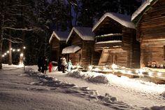 Weihnachtspfad auf Seurasaari