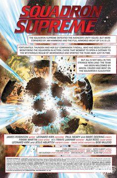 Exclusive Preview: SQUADRON SUPREME #4 - Comic Vine