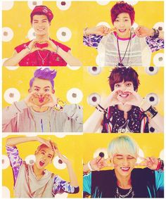 TEEN TOP ♡ C.A.P, Chunji, L.Joe, Niel, Ricky and Changjo