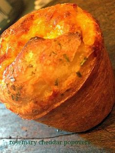 How to make Rosemary Cheddar Popovers