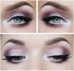 Как сделать макияж для серых глаз.