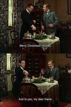 Merry Christmas from Sherlock Holmes