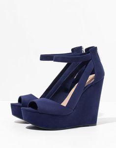 Bershka strappy wedges - Shoes - Bershka Serbia