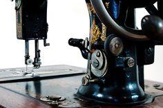 White Sewing Machine Bobbin Winder
