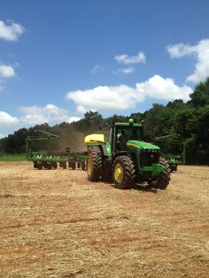 Ben and the boys planting soybeans on the refuge! Looney Farms