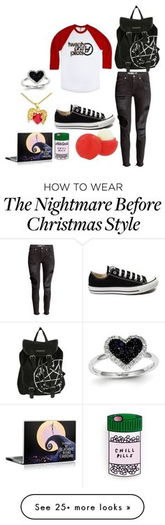 """Untitled #1447"" by idontlikepepole on Polyvore featuring Converse, Eos, Kevin Jewelers, women's clothing, women, female, woman, misses and juniors"