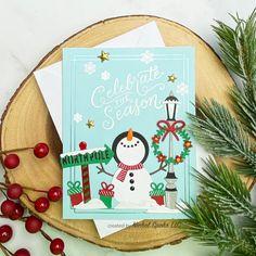 SPELLBINDERS_CKOTM_IG2 Die Cut Christmas Cards, Merry Christmas Card, Xmas Cards, Diy Cards, Spellbinders Christmas Cards, Spellbinders Cards, Card Kit, Card Tags, Acetate Cards