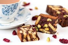 Make this nutty Chocolate Fridge Cake for National Pistachio Day.