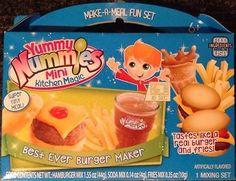 Yummy Nummies Mini Kitchen Magic Best Ever Burger Maker