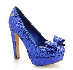 Scarpe decolletè Blink | Cristal Glitter - Blu