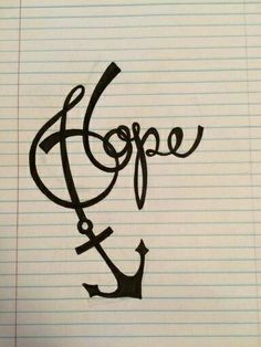 Possibly my next tattoo. We have this hope as an anchor for the soul, firm and . - Possibly my next tattoo. We have this hope as an anchor for the soul, firm and secure -Hebrew - Future Tattoos, Love Tattoos, Body Art Tattoos, New Tattoos, Tatoos, Tatoo Faith, Tattoo Mutter, Freundin Tattoos, Hope Anchor