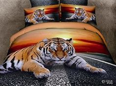 Frequently Asked Question: What the duvet cover bed linen sets include? This bed linen bedding sets include 1 bed flat pillow cases. What Size bed linen bed linen collections I could Cheap Bedding Sets, Queen Bedding Sets, Duvet Cover Sets, Comforter Sets, King Comforter, Bed Covers, Cama Queen Size, Animal Print Bedding, Animal Bedroom