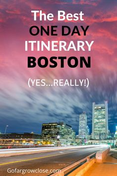 A fun one day Boston itinerary with lots of eating, shopping and exploring that will appeal to everyone. Boston Travel Guide, Usa Travel Guide, Travel Usa, Travel Guides, Travel Tips, Boston Food, Boston Usa, Boston Activities, Boston Vacation