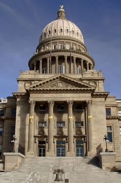 Our beautiful State Capitol in Boise, ID
