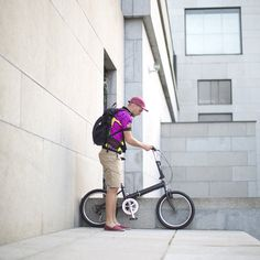 Folding Bicycle, Logo Branding, Logos, Photo Black, Prague, Old Town, Baby Strollers, Backpack, Behance