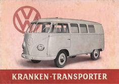VW - 1950 - VW Kranken-Transporter - [1348]-1