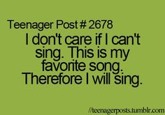 this is exactly what I think when I listen to the Sherlock Theme song. Even though there are no words, I need to sing every part. Teenager Quotes, Teen Quotes, Funny Quotes, Funny Memes, Teen Posts, Teenager Posts, Humor Cristiano, Teen Life, Thing 1