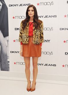 Ashley Greene wore DKNY at a an event in New York.