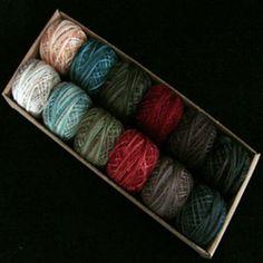 Valdani Pearl Cotton Ball Sz12 73yd 12 Colors Folk Art Fusion 2