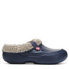 Crocs Men's Blitzen II Clog Sandals (Navy/Clay)